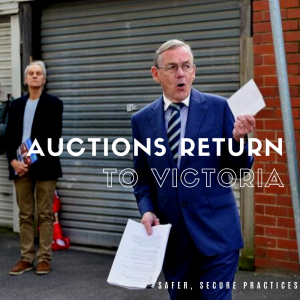 Auctions are back in Victoria