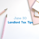 Landlord tips for tax time