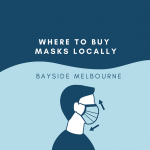 Where to buy masks in Port Melbourne and South Melbourne